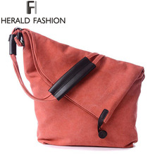 Buy Canvas Crossbody Women Bag Designer Button Shoulder Bags Large Capacity Weekender Messenger Bags Tote Herald Fashion for $20.62 in AliExpress store