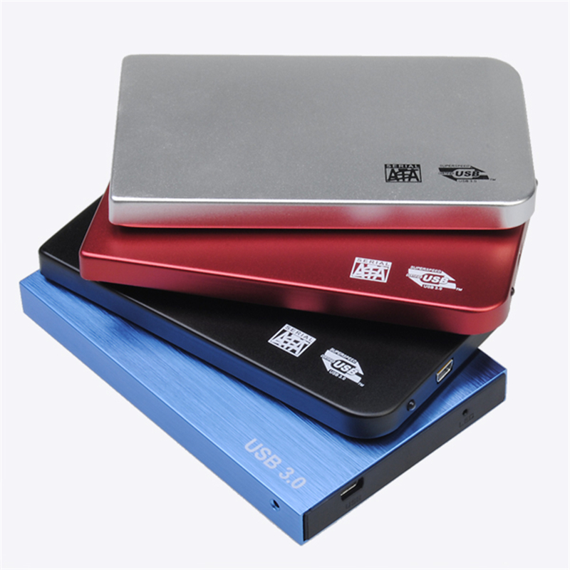 Aluminium 2.5inch USB3.0 SATA HDD Hard Drive Disk External Case(China (Mainland))