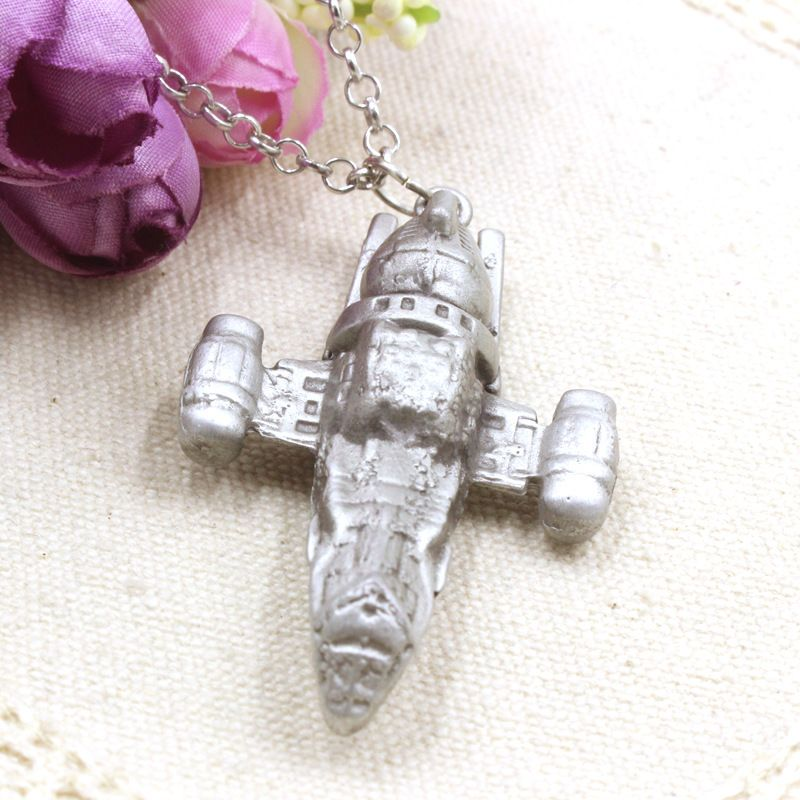 Movie Star Wars Firefly Serenity Replica HD Space Ship Metal necklace star wars spaceship necklace jewelry gift for women men(China (Mainland))
