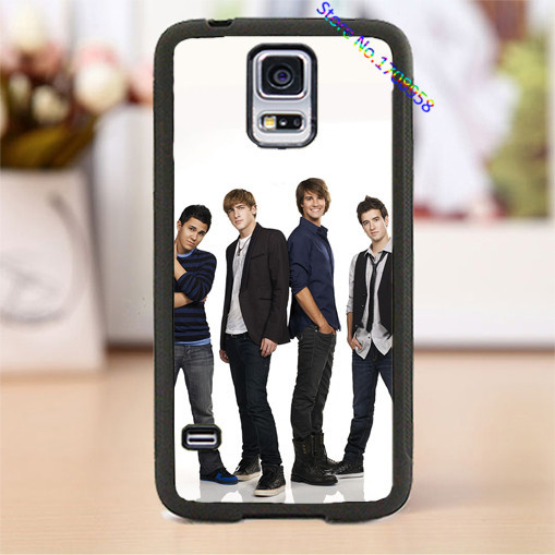 BTR Big Time Rush cell phone cover case for Samsung Galaxy S3 S4 S5 S6 S7 Note 2 Note 3 Note 4 &M#619(China (Mainland))