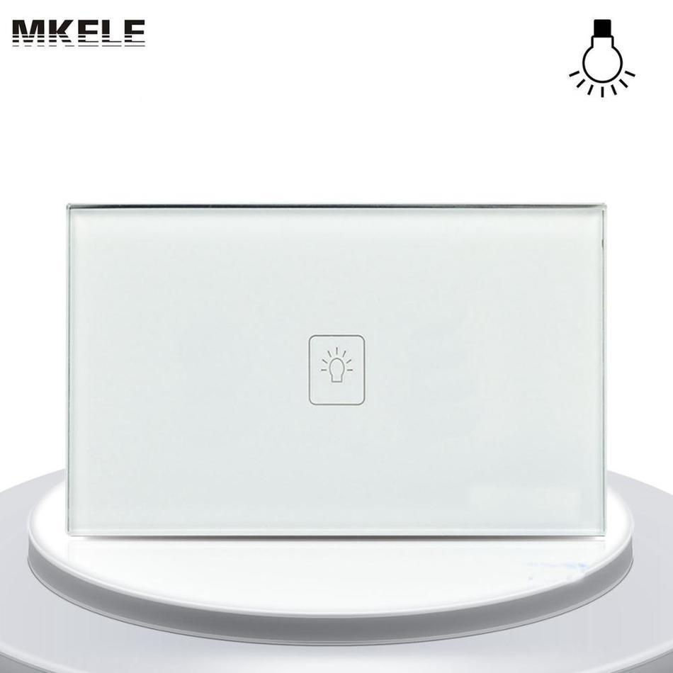 Touch Dimmer Switch Sensor 1 Gang 1 Way Glass Panel+Adjust LED Wall Light(China (Mainland))