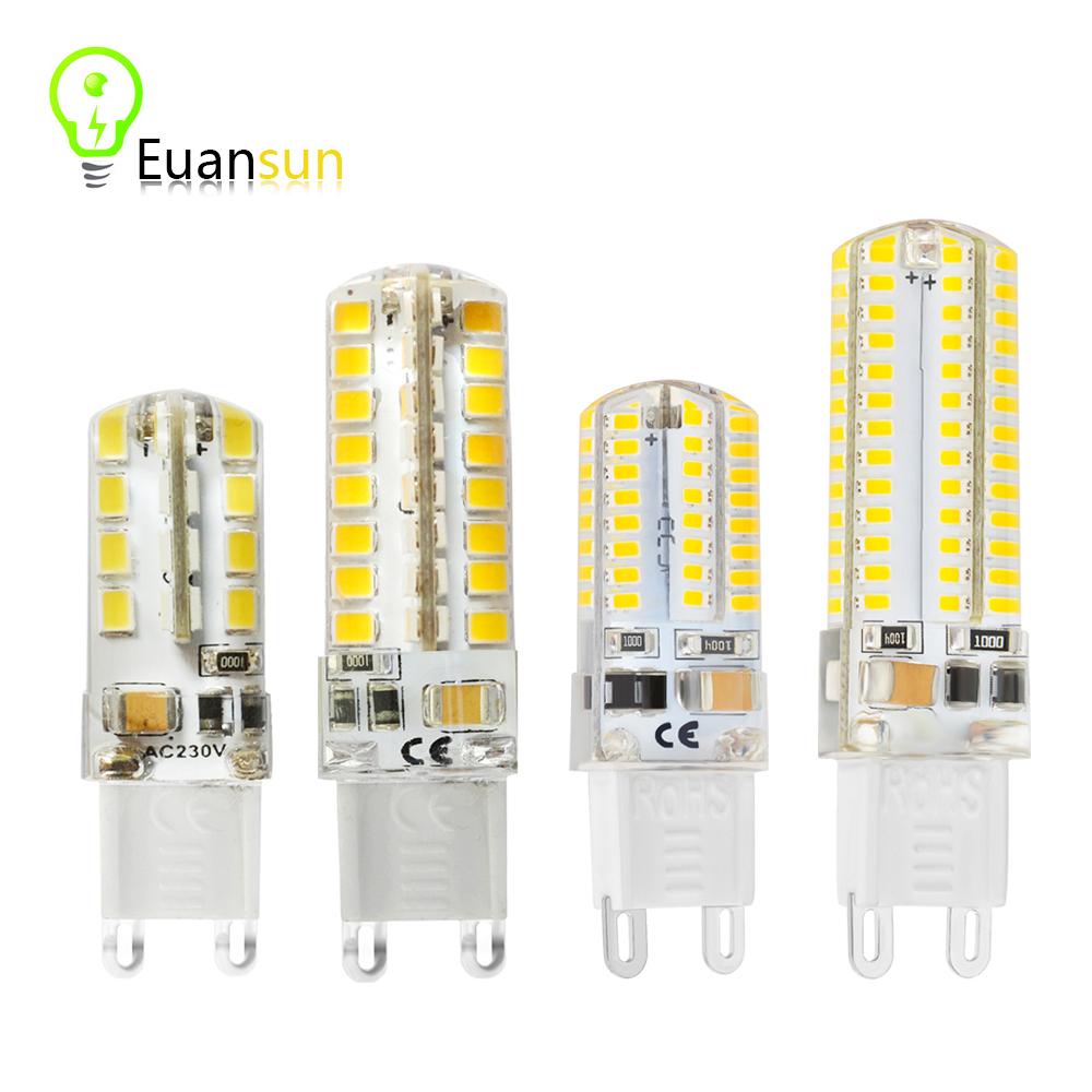 2016 Mini LED Bulb SMD 2835 3014 LED G4 G9 LED lamp 5W 6W 9W 10W Corn Light AC220V 360 Degree Replace Halogen Lamp free shipping(China (Mainland))
