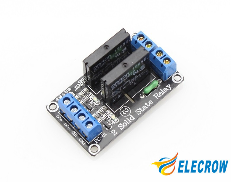 Channel solid state relay module for arduino arm dsp pic