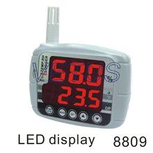 Az8809 AZ-8809 alta precisión humedad registrador de datos de temperatura con pantalla grande LED