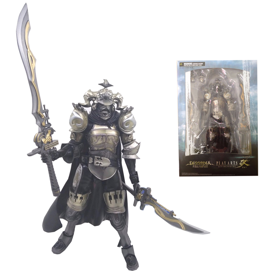 Play Arts Final Fantasy 12 Figure Final Fantasy XII Gabranth Figure PA 23cm PVC Action Figure Doll Toys Kids Gift(China (Mainland))