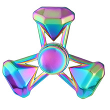 Buy Rainbow series Zinc alloy cool hand spinner colorful fidget spinner toys Gyro Toys Retail Box Stress Relief toys for $3.89 in AliExpress store