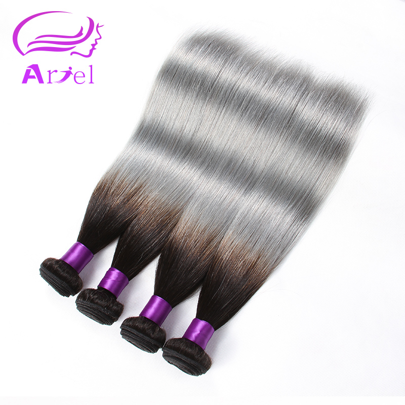 Black And Grey Ombre Human Hair 7a Brazilian Virgin Hair Ombre 4 Bundles Grey Ombre Hair Weave Grey Ombre Human Hair Weave 3tone<br><br>Aliexpress