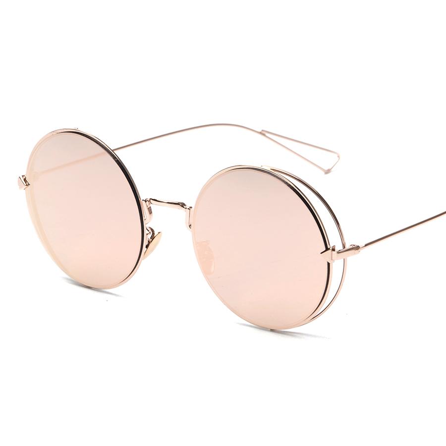 Round Flat Lense Lady Arrow Glasses 2016 New Vintage Retro Fashion Sunglasses Women Men Brand Designer UV400 oculos de sol(China (Mainland))