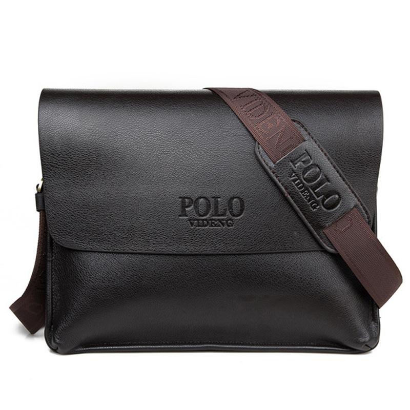 2015 New Fashion Leather Men Messenger bag leisure bag Men's Cross body bag shoulder business Bag High Quality(China (Mainland))