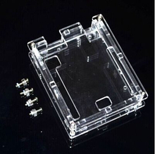 Uno R3 Case Enclosure Transparent Acrylic Box Clear shell Compatible with Arduino UNO R3