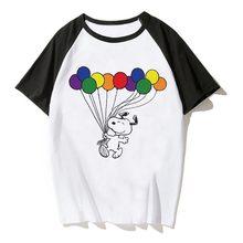 夏ゲイプライドシャツレズビアン虹 Lgbt Tシャツプリント Tシャツの男の女性カジュアル Tシャツ Tシャツユニセックス服愛は愛 Lgbt(China)