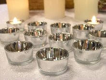 Bulk Set 48PC Glass Silver Color Candle holder,USD59.04 Per Set/Each USD1.23(China (Mainland))