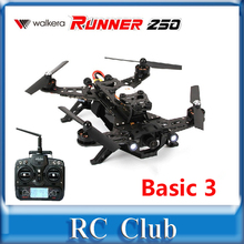 Basic 3 Version Walkera Runner 250 Racing with DEVO 7 RC Quadcopter Drone with OSD / Camera / Battery RTF 2.4GHz