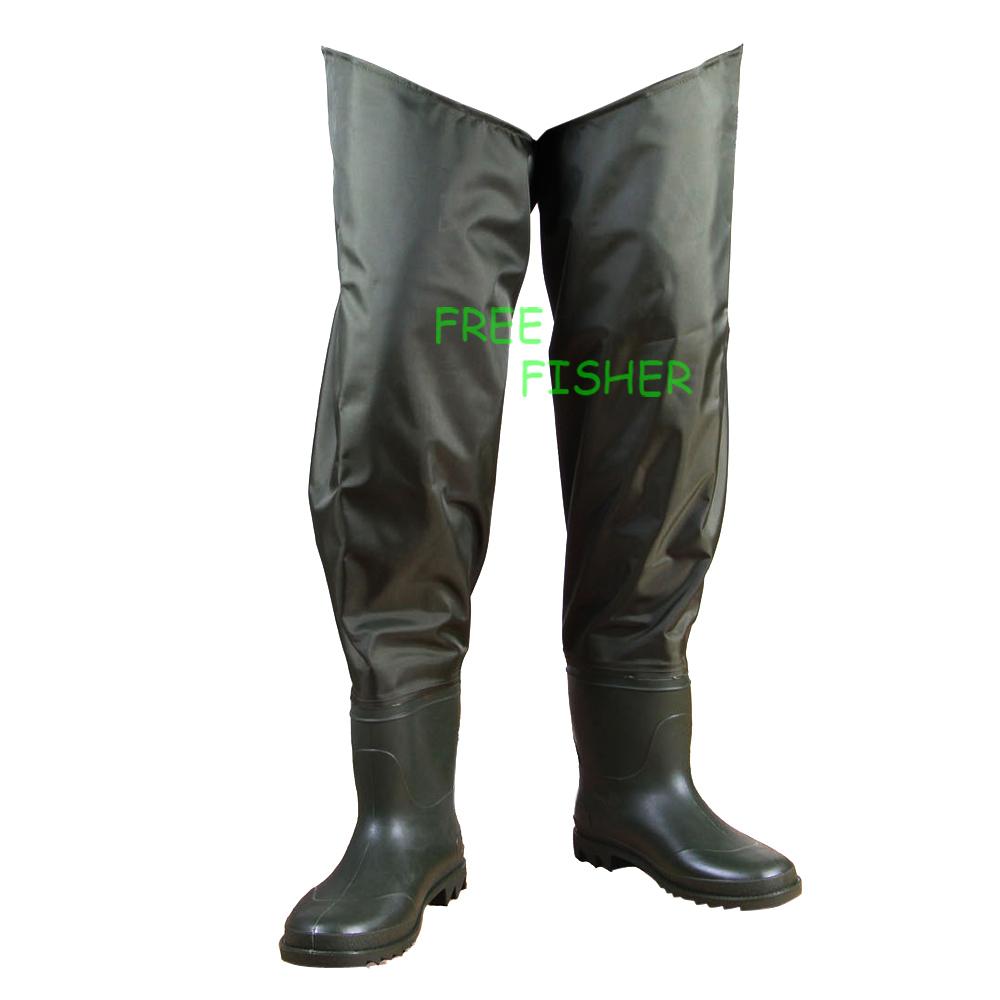 Unisex Hip Wader fishing pants boot-foot fishing waders(China (Mainland))