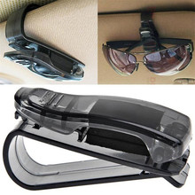Dependable 2016 New hot Car Sun Visor Glasses Sunglasses Ticket Receipt Card Clip Storage Holder Ma19