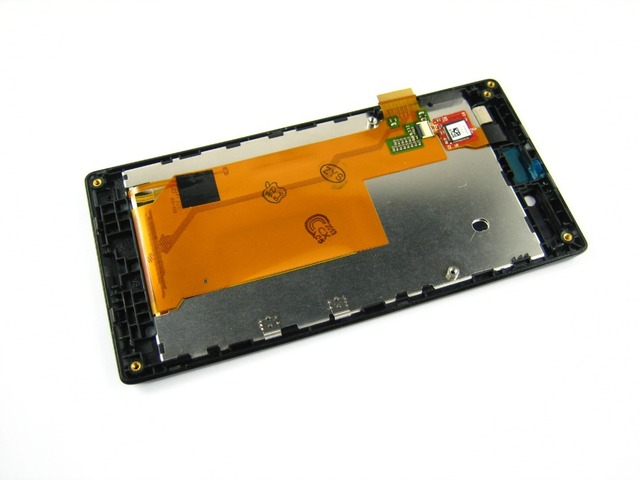 Replacement Full LCD Display + Touch Screen Digitizer + Frame Housing for Sony Xperia J / ST26i