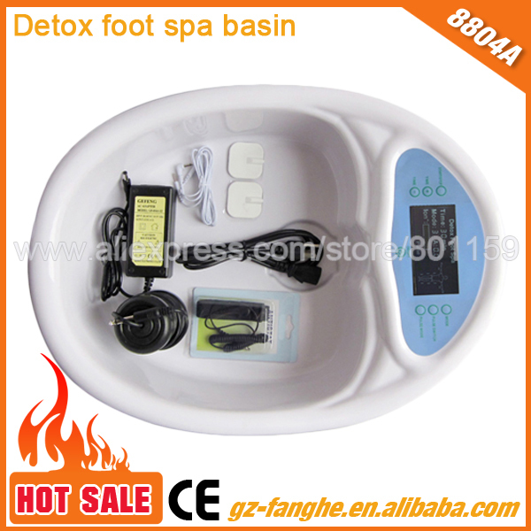 2014 best selling foot spa detox machine made china factory