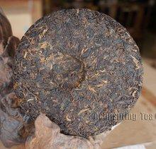 Free Shipping Haiwan Old Comrade 908 Ripe cake 200 grams Pu erh Tea Famous Brand Pu