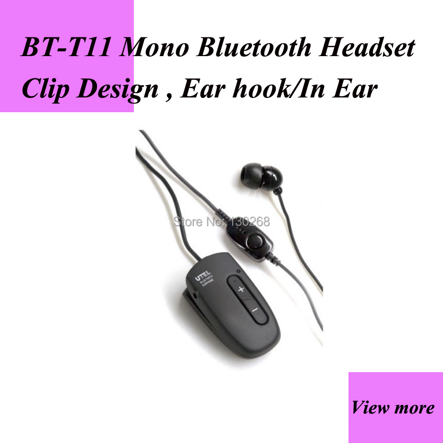 Only One Cheapest Earphone For Two Way Radio And Mobile