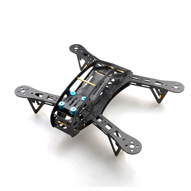 F14702 WASP280 280mm Mini 4-Axis Fiberglass RC Quadcopter Frame Kit DIY For FPV