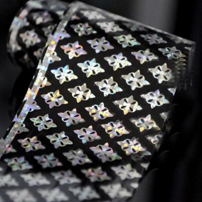 1Pc Damask Holographic Nail Foils Nail Art Transfer Sticker Paper # 22949(China (Mainland))