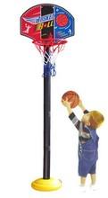 Cabritos libres del envío baloncesto canasta de baloncesto soporte conjunto aro con bola / bomba muchachos al aire libre deportes de los niños del juguete cesta