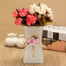Flower Planter Vase Plastic Container Gardening Greening Projects Wedding Party Ball Office Home Decoration Embellishment(China (Mainland))
