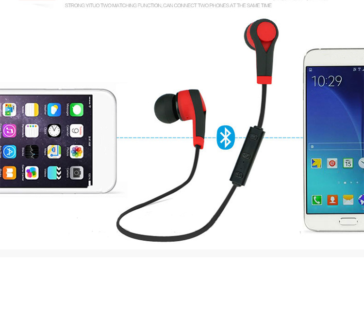 TTLIFE New Bluetooth Wireless  Headphone Bluetooth Earphone Earpiece Running Earbuds Headset with Microphone Auriculares