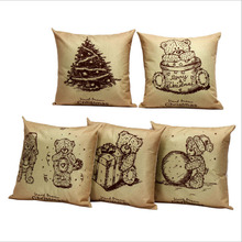 Buy 45cm*45cm Restore ancient old picture linen/cotton pillow covers sofa pillow case car seat cushion cover decorative pillows for $2.90 in AliExpress store