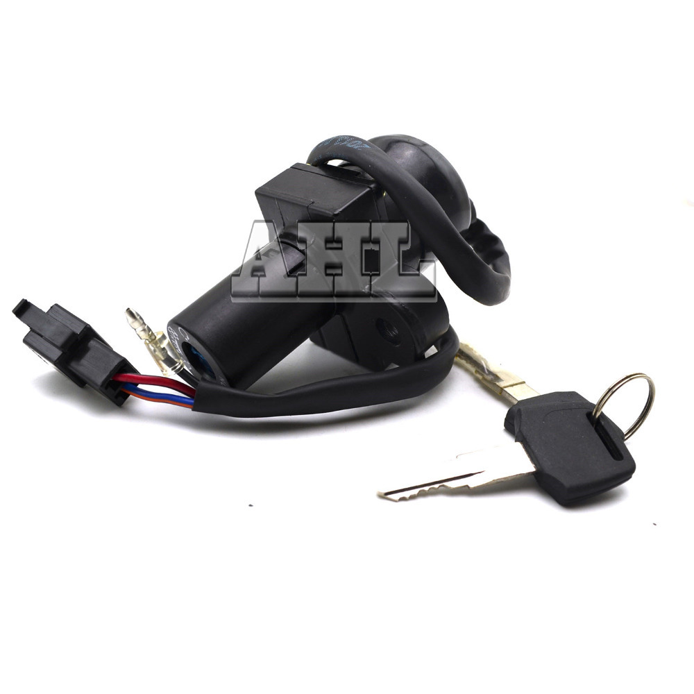 Motorcycle Ignition Switch Lock + 2pcs Keys For Honda VFR400 RVF400 NC21 24 30 35 not Includ Fuel gas Tank Cap Seat Handle Locks<br><br>Aliexpress