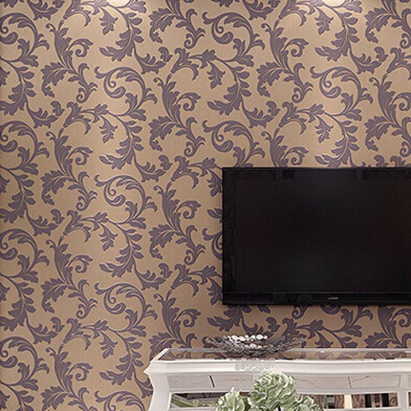 Achetez en gros motif de feuille papier peint en ligne for Papier peint motif chinois