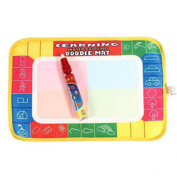 Deerfield Water Drawing Painting Writing Board Aquadoodle Mat Doodle Pen(China (Mainland))