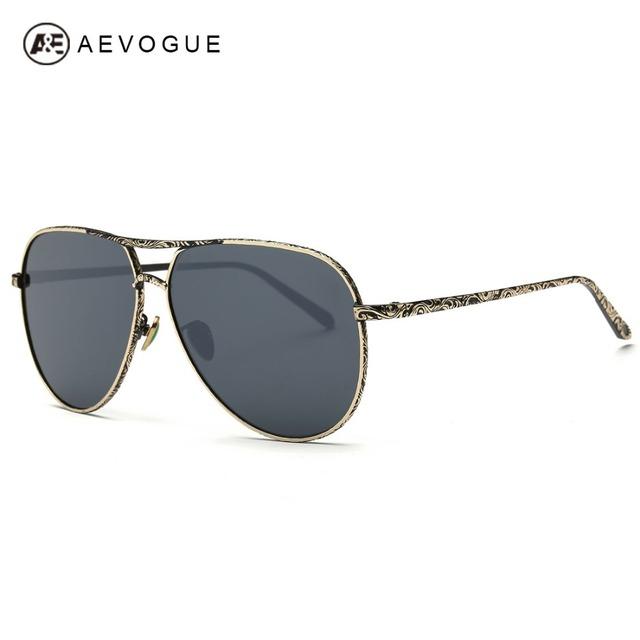 Aevogue очки мужчины модной прохладно очки зеркало мода изумруды искусственный носоупоры солнцезащитные очки UV400 AE0362