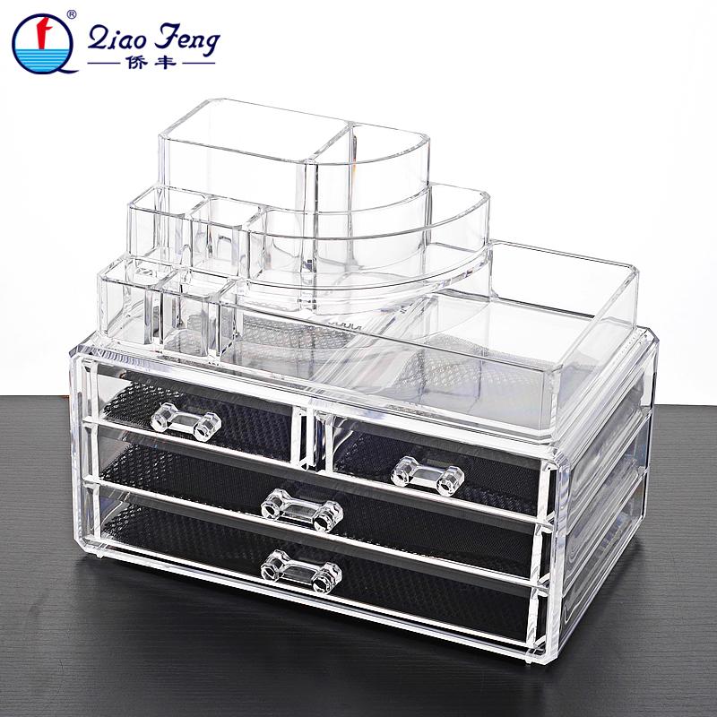 Buy Makeup Organizer Acrylic Storage Box Rangement Maquillage Cosmetic