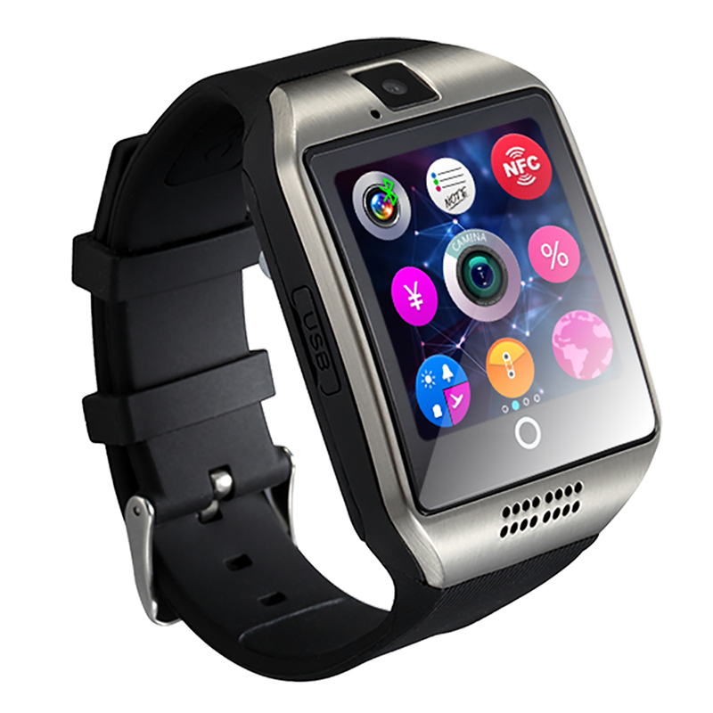 Bluetooth Smart Watch Q18 Watch With Camera Facebooks Twitter Smartwatch Support Sim TF Card For Apple ios Android Phone 18650(China (Mainland))
