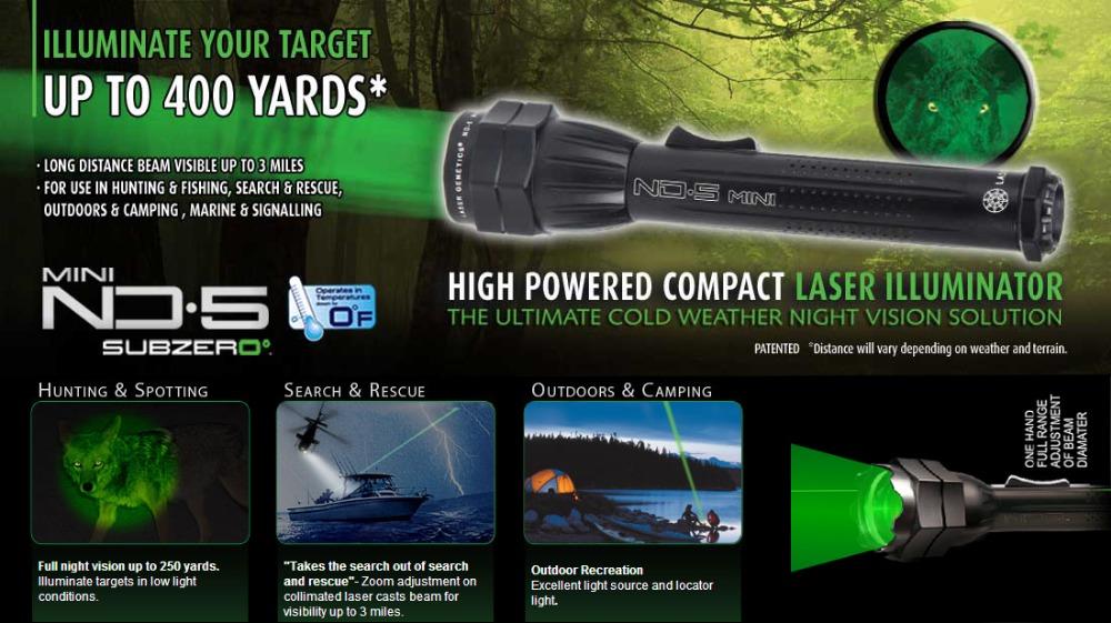 Ohhunt ND3 ND4 ND5 MINI Green Laser Designator High Powered Illuminator Flashlight Light Scope For Tactical Hunting Sports(China (Mainland))