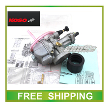 KOSO Carburetor 34mm Motorcycle Carburetor 250cc 300cc 350cc GY6 Scooter high performance racing free shipping