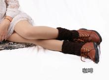 Kadın Tığ Işi bot paçaları Örgü Toppers Boot Çorap Kış Bacak Isıtıcıları(China)