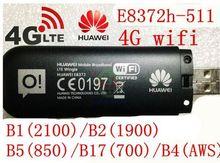 Unlocked Huawei E8372 150Mbps Modem E8372-511 4G Wifi router 4G LTE Wifi Modem LTE band1/2/4/5/17, PK E8278 w800 e5372 e3276(China (Mainland))