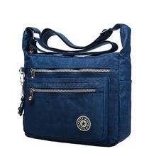 2016 women's waterproof nylon messenger bags handbags shoulder bags outdoor girls sport bags crossbody bolsos Borse(China (Mainland))