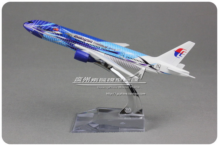 16cm Alloy Metal Air Freedom Of Space Malaysia Airlines Plane Model Boeing B777 200 Airways Airplane Model Aircraft Mode Toy(China (Mainland))