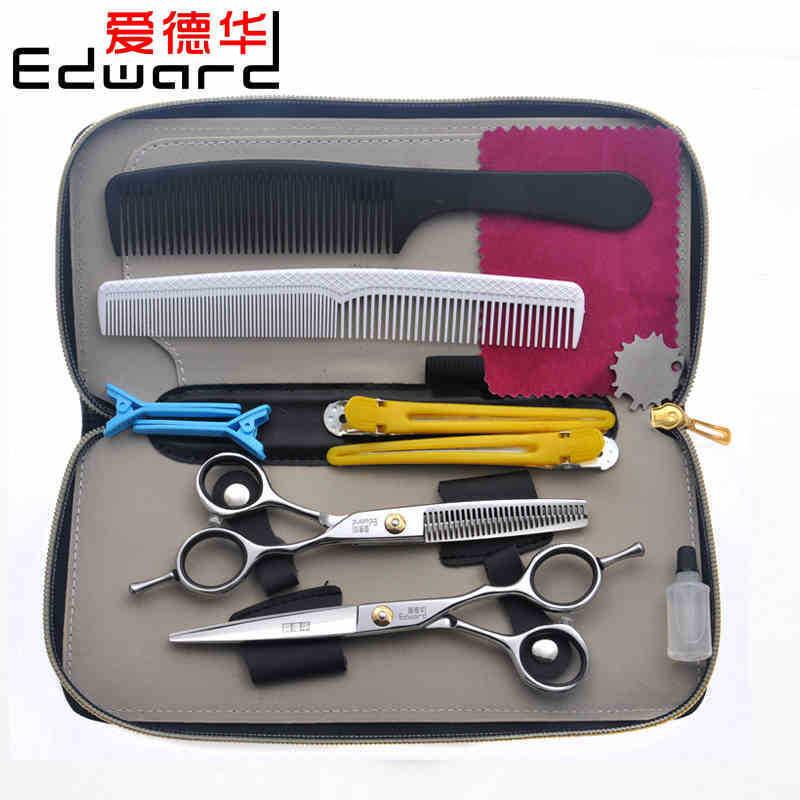 "Фотография Hot Sale 6"" Professional Hairdressing Scissors Barber Scissors Hair Scissors Salon Scissors Set Hair Styling Tools c11"