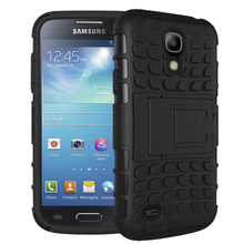 For Samsung S4 Kickstand Case Heavy Duty Armor Shockproof Hybird Hard Rugged Rubber Case Cover For Samsung Galaxy S4 i9500 i337