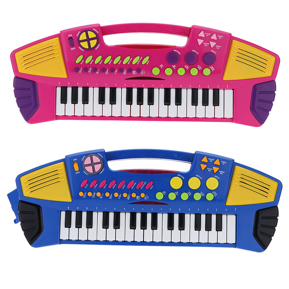 32 Keys Multifunctional Electronic Keyboard Music Toy Educational Cartoon Electone Gift for Children Babies Kids(China (Mainland))