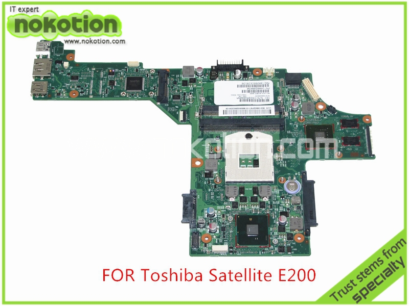 SPS V000208030 For toshiba satellite  E200 E205 Laptop motherboard Intel HM55 Nvidia GeForce GT310M Mainboard<br><br>Aliexpress