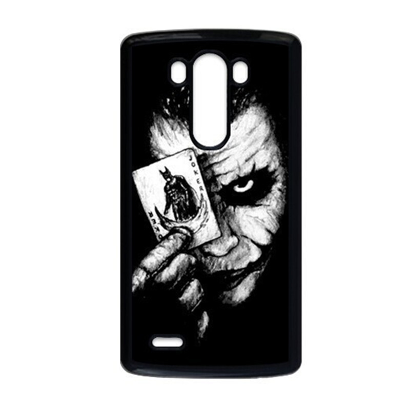 Batman and Joker Cover Case for LG G2 G3 G4 Case For iPhone 4 4S 5 5S 5C 6 6S Plus iPod Touch 5 Phone Cases(China (Mainland))