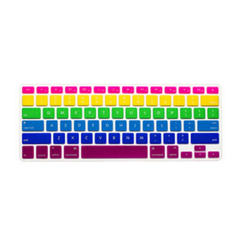 rainbow Skin Silicone font b Laptop b font Protector font b Keyboard b font font b