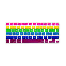 rainbow Skin Silicone Laptop Protector Keyboard Cover film Guard for Apple Macbook Pro Air Retina 13 15 17 FOR Mac 13″