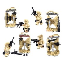 11209-11212 New 4pcs/lot Counter-Strike Armory Building Blocks CS Comes With Weapons Minifigures Children Toys(China (Mainland))