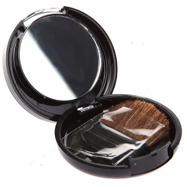 WarmSun Compact Round Case Face Blusher with Mirror and Brush Face Make-up Cosmetic Gadget for Lady Women HCI-116045(China (Mainland))